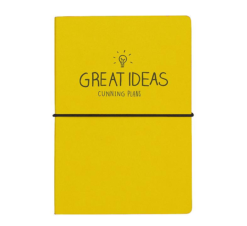 Great Ideas Notebook (A5) par Happy Jackson / Wild & Loup