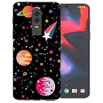 OnePlus 6 Space TPU Gel Case