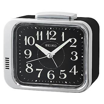 Seiko klocka väckarklocka Dial Black (modell nr QHK049A)