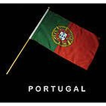 Portugal Hand Held Flag