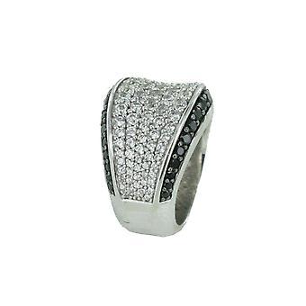 Esprit Collection Damen Ring Silber Zirkonia Aura Gr.17 ELRG91823B170