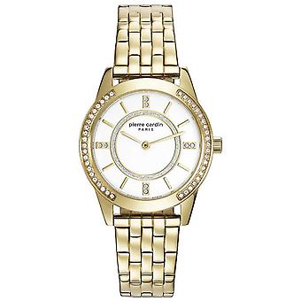 Pierre Cardin ladies watch wristwatch TROCA gold PC108182F06