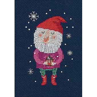 Fairy Little Gnome Counted Cross Stitch Kit-2.75