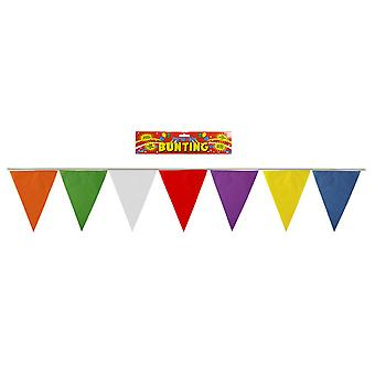 Henbrandt Multicoloured Flag Pennant Bunting (7 Metres)