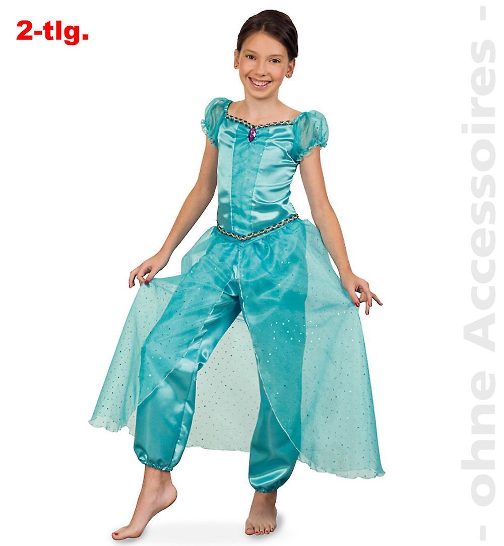 Jasmine costume children Aladin 1001 nights harem Lady Jeannie child costume