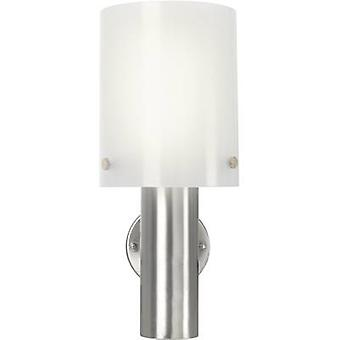 Renkforce Torrent HY0002AUP-6 LED outdoor wall light 10.5 W Warm white Silver