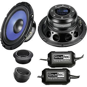 2 way flush mount speaker set 300 W Sinustec ST-165