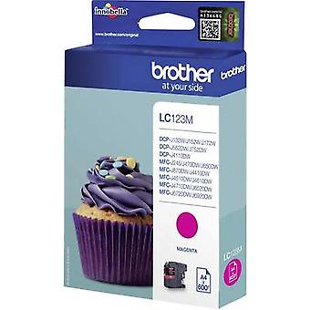 Brother tinta LC - 123M Original LC123M Magenta