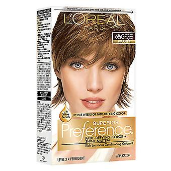 Color de cabello de preferencia Superior de l ' Oreal París, Golden Brown 6 1 / 2g, 1 Kit