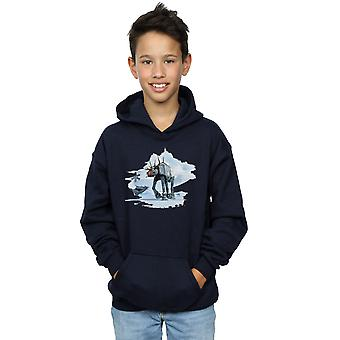 Star Wars Boys Christmas AT-AT Reindeer Hoodie