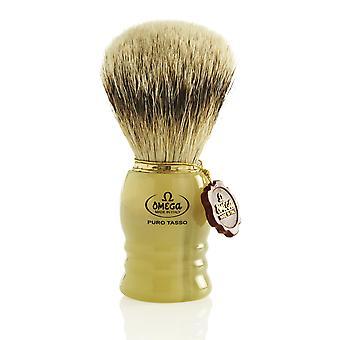 Omega 620 1st Grade Super Badger Hair Shaving Brush
