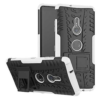 Hybrid case 2 piece SWL robot white for Sony Xperia XZ3 bag case cover protection