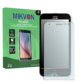 Asus ZenFone 2 Laser (ZE500KL) Screen Protector - Mikvon Health (Retail Package with accessories)
