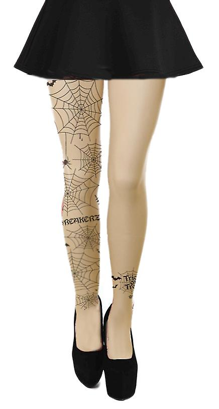 Waooh - Fashion - printed tights cobweb