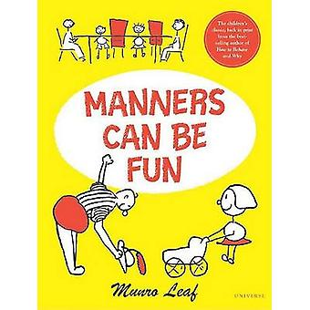 Manners Can be Fun by Munro Leaf - 9780789310613 Book