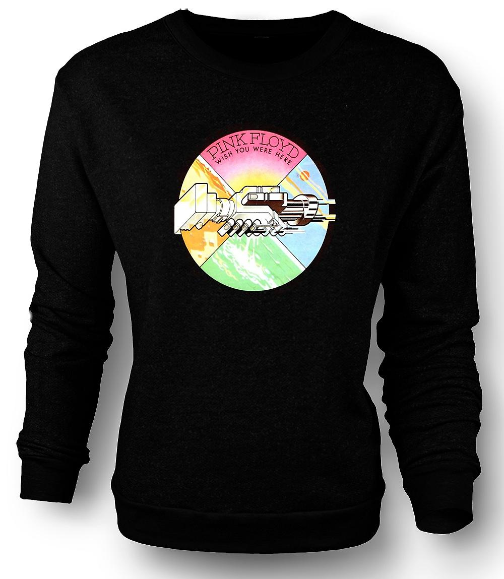 Mens Sweatshirt Pink Floyd - Wish You Were - Here