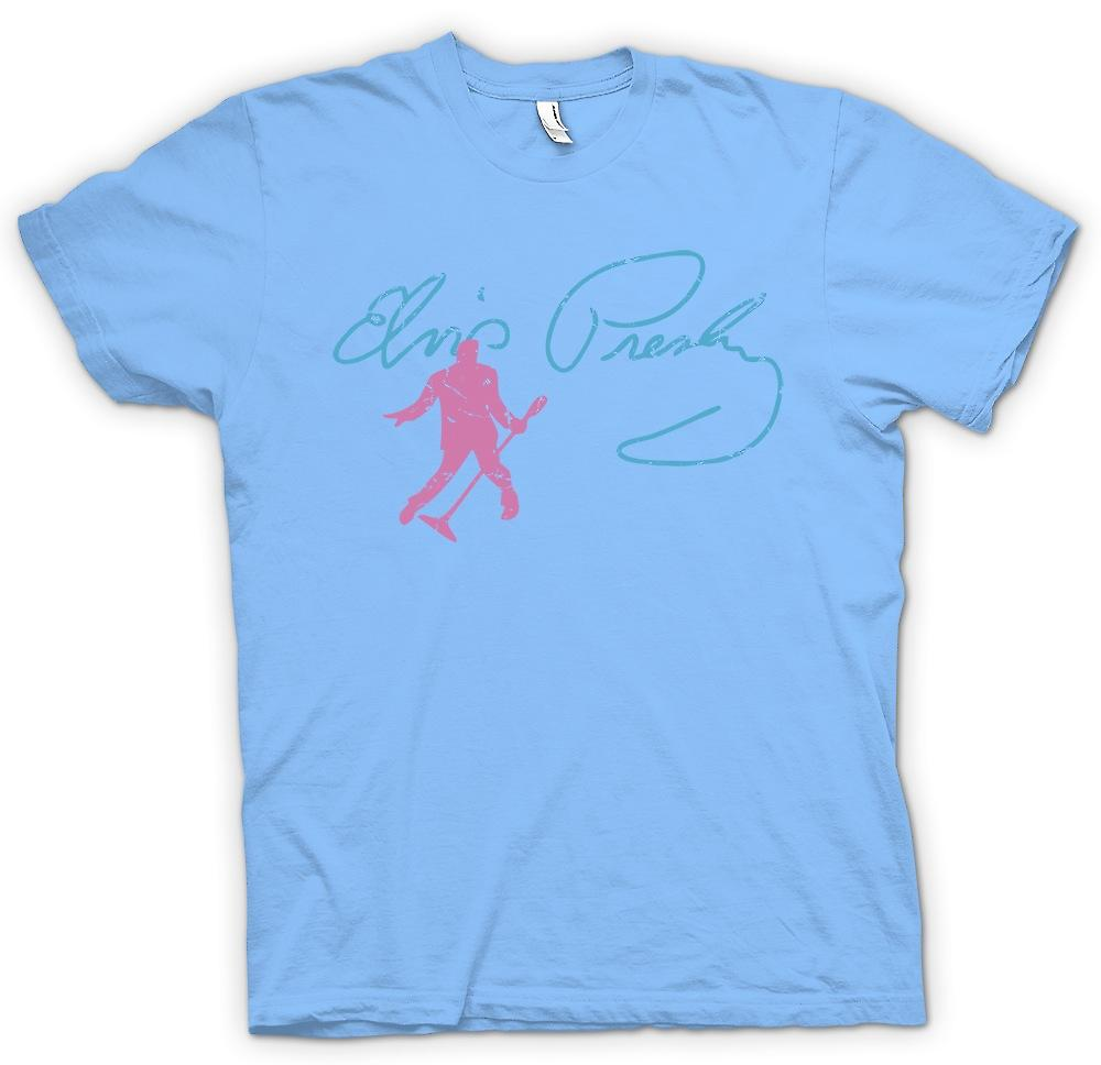 Mens t-shirt - Elvis Presley - Sig - re di Dancing