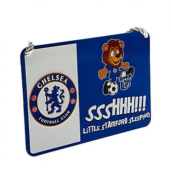 Chelsea FC Official Mascot Bedroom Sign