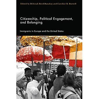 Ciudadanía, participación política y pertenencia: los inmigrantes en Europa y los Estados Unidos