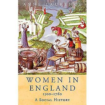 Femmes en Angleterre 1500-1760: une histoire sociale (Women In History)