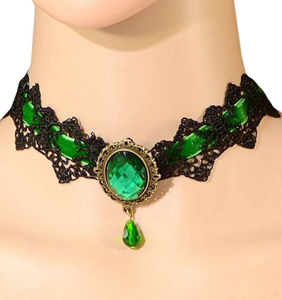 Waooh - Choker with cut stone Olli