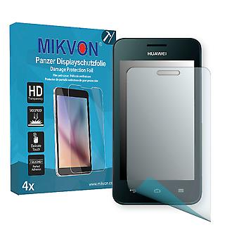 Huawei Ascend Y330 Screen Protector - Mikvon Armor Screen Protector (Retail Package with accessories)