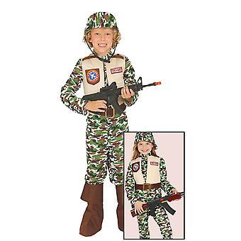 Traje de camuflaje de las fuerzas especiales de los niños