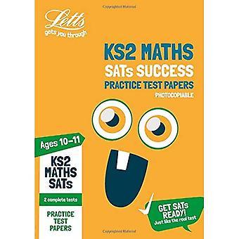 KS2 matematik SATs praktiken Test papper (Kopieringsbart edition): 2018 tester (Letts KS2 SATs framgång) (Letts KS2 SATs framgång)