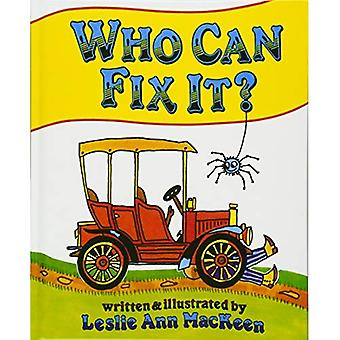 Who Can Fix It?
