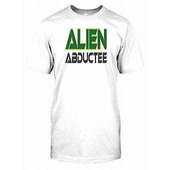 Abductee Alien - Drôle - Conspiracy Mens T Shirt