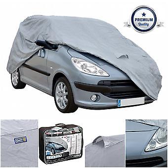 Sumex cubierta + impermeable y transpirable protección completa al aire libre cubierta del coche - 420x165x132cm (XXL0)