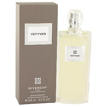 Vetyver av Givenchy Eau De Toilette Spray 3.3 oz/100 ml (menn)