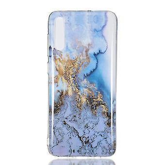 MTK Samsung Galaxy A70 TPU Marble-Style F