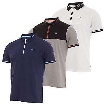 Calvin Klein Mens 2019 Airfoil Polo Shirt