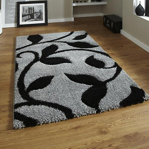 Rugs - New Art Fashion 7647 Grey & Black