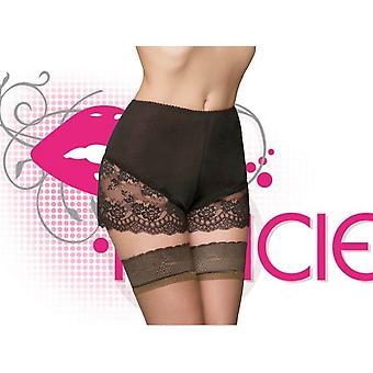 Nancies Lingerie Luxury Polka Dot French Cami Knickers with Swiss Lace