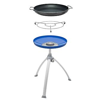 Cadac Paella Braai BBQ With Large 47cm Paella Pan - Black/Blue