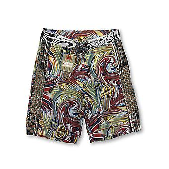 Robert Graham Jetski swim shorts in multi colour abstract