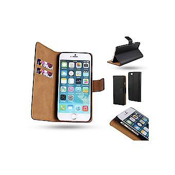 Iphone 5/5s/SE portefeuille en cuir