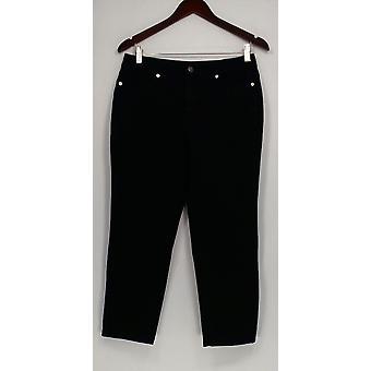 Isaac Mizrahi en direct! Femmes-apos;s Petite Jeans 24/7 Denim Fly Front Blue A286109