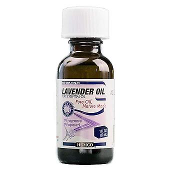 Humco lavender oil, 100% pure and natural essential oil, 1 oz