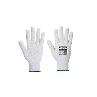 Portwest antistatic micro dot glove a196