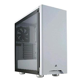 Corsair carbide 275r cabinet midi-tower atx white tempered glass