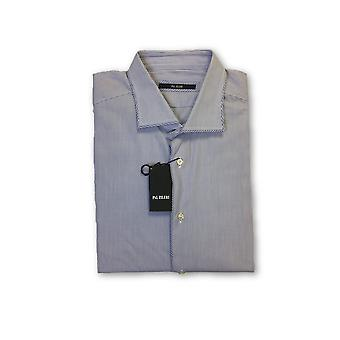 Pal Zileri shirt in blue and white stripe