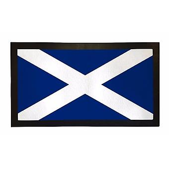 Printed Bar Runner Scottish Flag Rubber Bar Mat Mens Gift Idea