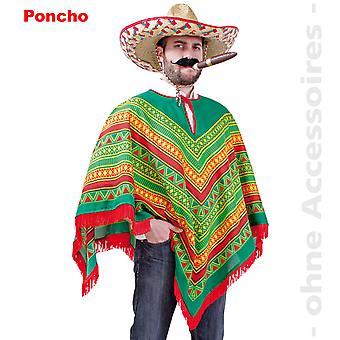 Poncho Mexican costume Rodrigo Mexican costume