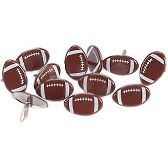Eyelet Outlet Brads Football 12 Pkg Qbrd 665