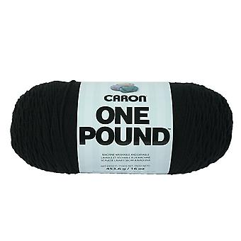 Caron One Pound Yarn Black 294010 10503