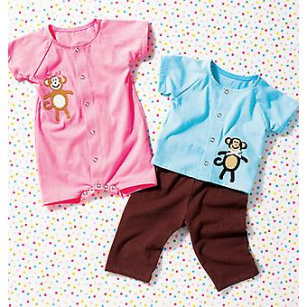 Baby Top, Pants And Romper  Pattern K3982