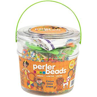 Perler Fun Fusion Fuse Bead Activity Bucket Circus 80 42849